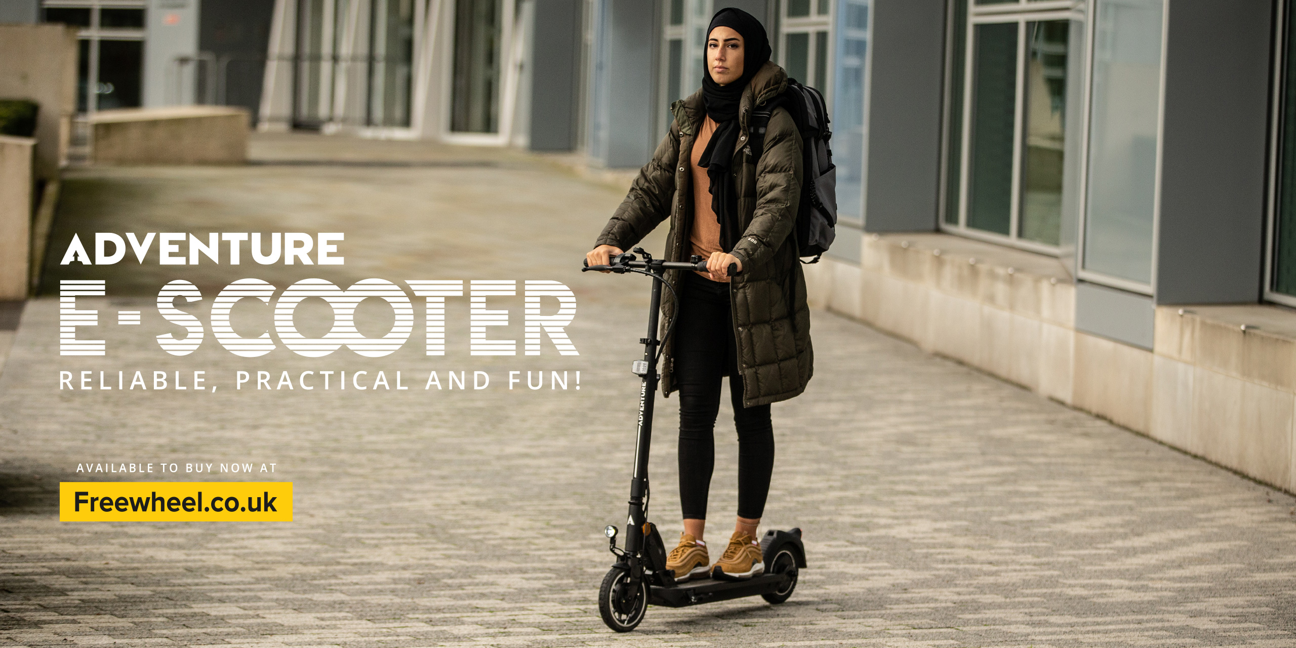 e-Scooter Homepage Banner