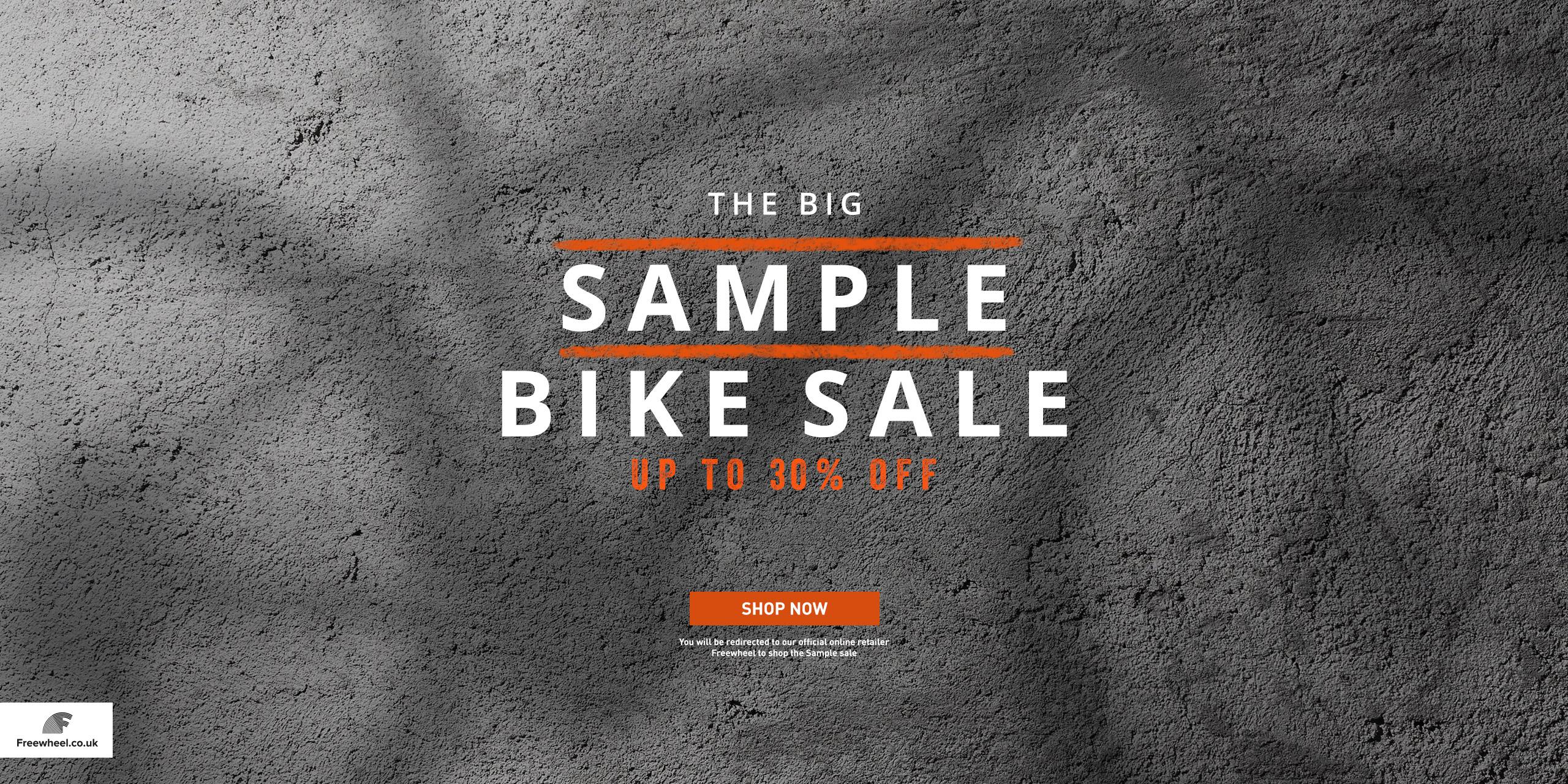 Sample Bike Sale