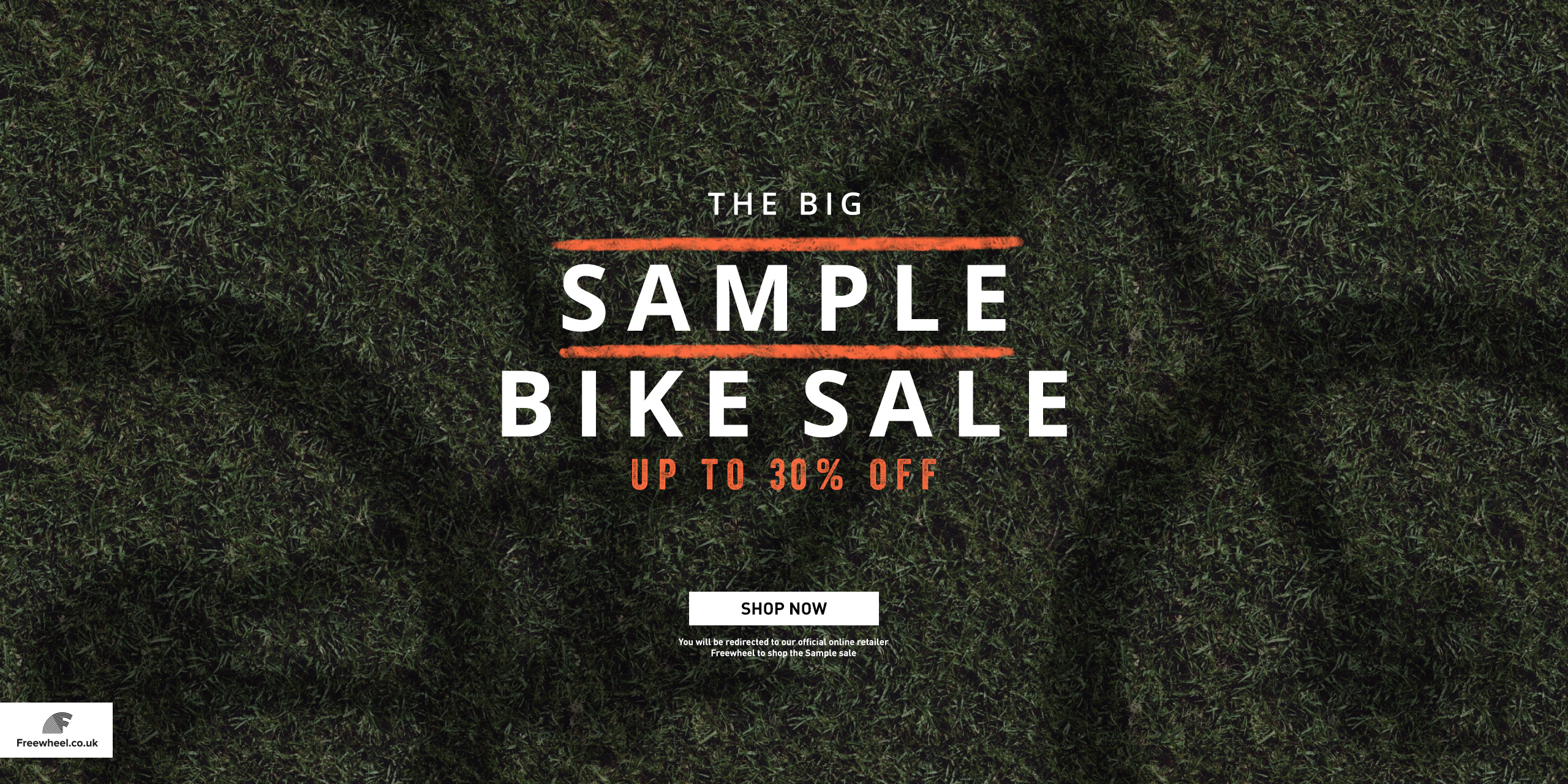 Sample Bike Sale